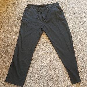 🔥Mens Calvin Klein Grey Dress Pants 38x32🔥